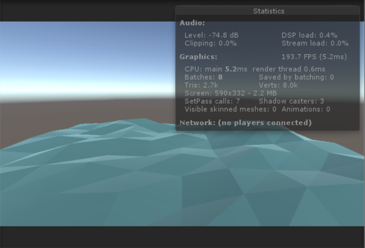 Low poly water shader | Battlemaze